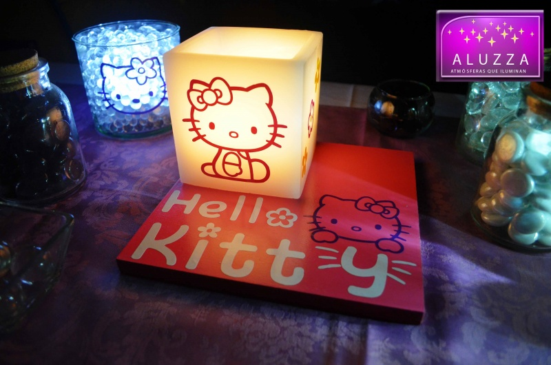 CENTRO DE MESA INFANTIL HELLO KITTY