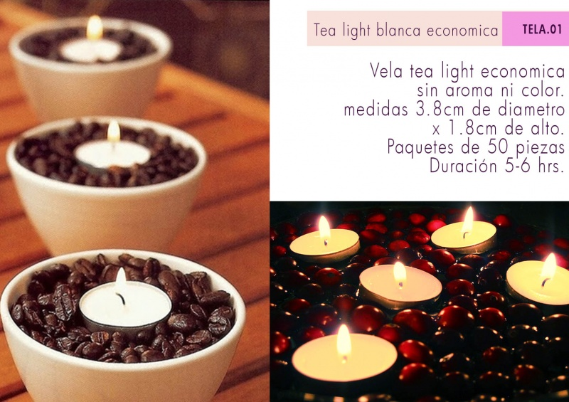 TEA LIGHT ECONOMICA